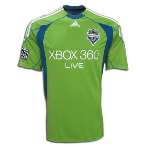 Seattle Sounders maillot foot XBOX