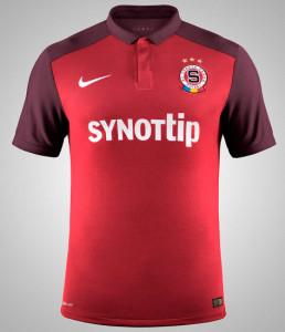 Sparta Prague 2016 maillot domicile 15-16