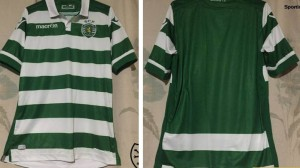 Sporting 2016 maillot foot domicile SCP 15-16