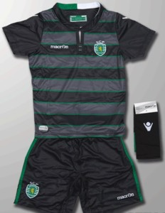 Sporting Portugal 2016 maillot exterieur SCP 15-16