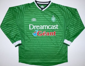St-Etienne 2000 ASSE maillot foot Dreamcast