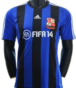 Swindon Town 2013 2014 maillot foot FIFA 14