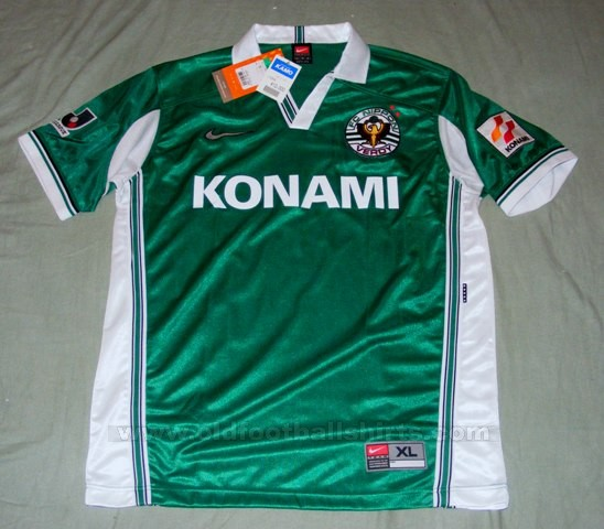 Tokyo-Verdy-maillot-football-1999-2000