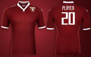 Torino 2016 maillot foot domicile 2015 2016