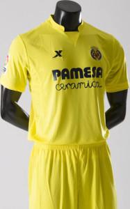 Villareal 2016 maillot domicile 15-16