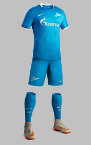 Zenit 2016 maillot domicile officiel 15-16