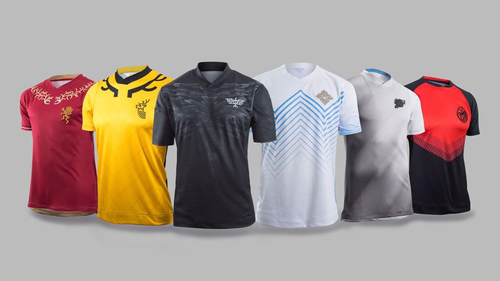 Des maillots de football en version Game of Thrones