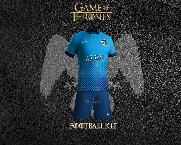 maillot de foot Arryn