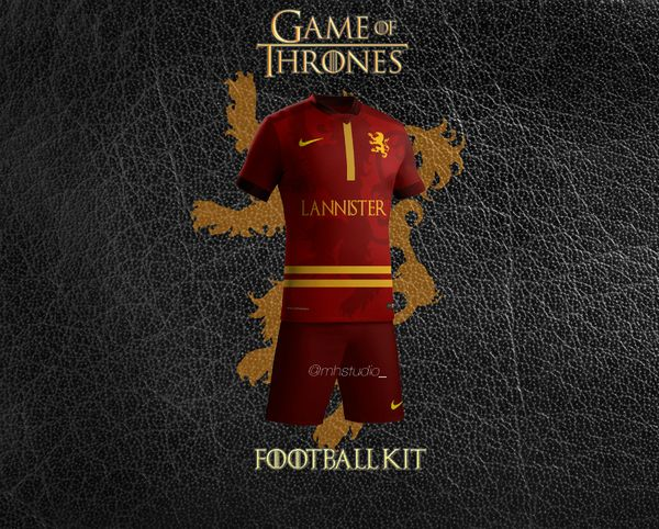 maillot de foot Lannister
