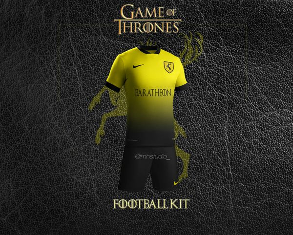 maillot foot Baratheon