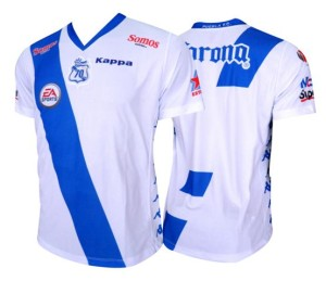 maillot foot Puebla 2014 EA Sports