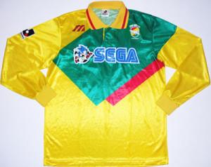 maillot foot Sega Sonic JEF United 1994