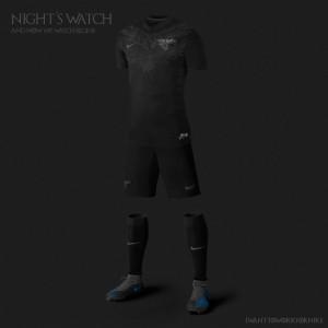 maillot foot garde de nuit Game of Thrones