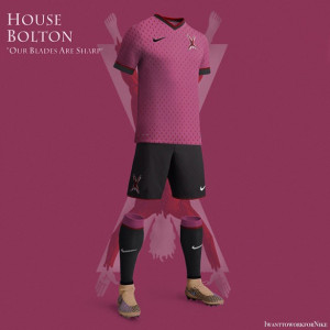 maillot foot maison Bolton Game of Thrones