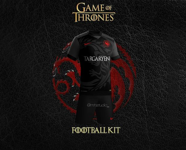 maillot football Targaryen