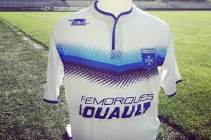 AJ Auxerre 2016 maillot domicile