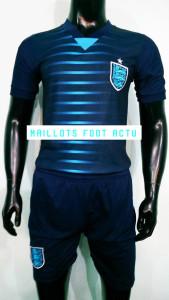Angleterre 2016 maillot exterieur football bleu