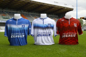 Auxerre 2016 les maillots de foot