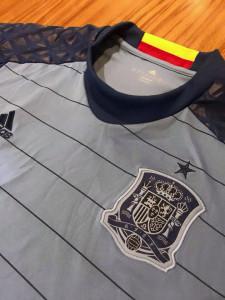 Espagne 2016 maillot gardien gris Euro 2016