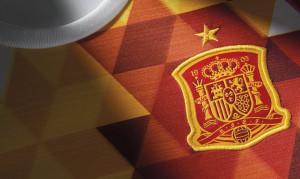 Espagne Euro 2016 blason maillot exterieur