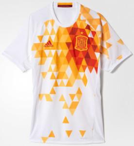 Espagne Euro 2016 blason maillot foot exterieur
