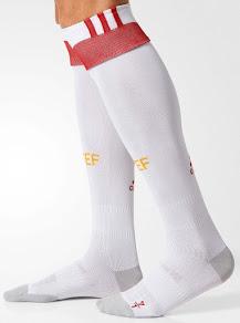 Espagne Euro 2016 chaussettes de foot exterieures