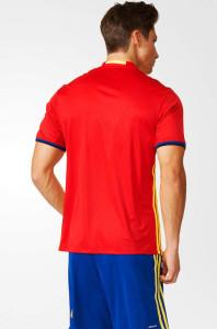 Espagne Euro 2016 maillot foot domicile vu de dos