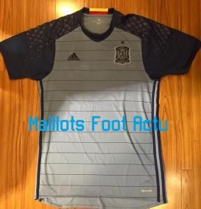 Espagne Euro 2016 maillot gardien gris