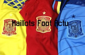 Espagne Euro 2016 maillots gardien et entrainement