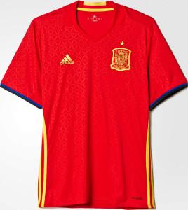 Espagne Euro 2016 photo du maillot foot domicile officiel