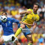 Maillot domicile Suède Euro 2016 Zlatan Adidas