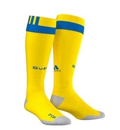 Suede Euro 2016 chaussettes de foot domiciles