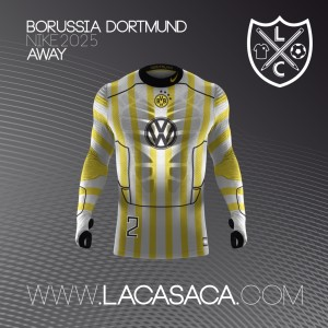 Borussia Dortmund 2025 maillot de foot futur
