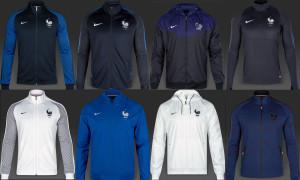 Equipe de France 2016 veste football
