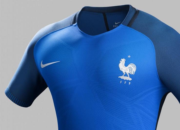 les maillots de foot france euro 2016 maillots foot actu. Black Bedroom Furniture Sets. Home Design Ideas