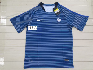Maillot foot entrainement France 2016