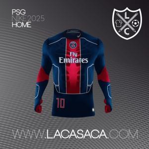PSG 2025 maillot de foot futur