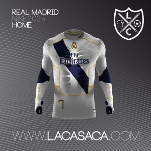 Real Madrid 2025 maillot de foot futur