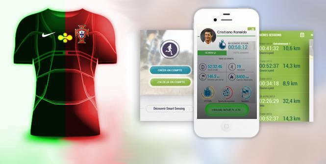 Maillot de foot connecté va révolutionner les maillots
