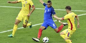 maillot foot jaune Roumanie Euro 2016 domicile