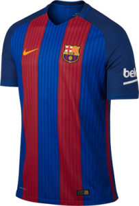 Barcelone 2017 maillot domicile foot 16-17 Nike