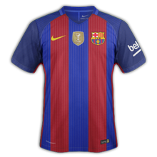 Barcelone 2017 maillot foot domicile