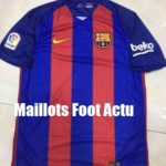 Barcelone 2017 maillot football domicile 16-17 Nike