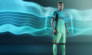 Barcelone 2017 maillot third 16-17 Nike