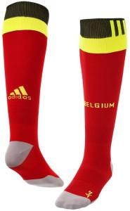Belgique Euro 2016 chaussettes de foot domicile