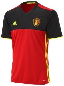 Belgique Euro 2016 maillot de foot domicile officiel Adidas