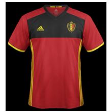 Belgique Euro 2016 maillot domicile foot