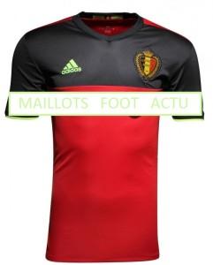 Belgique Euro 2016 maillot domicile football