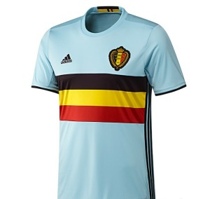Belgique Euro 2016 maillot exterieur de football