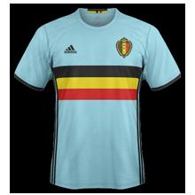 Belgique Euro 2016 maillot exterieur foot